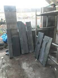 Welsh slate flag stones or hearth