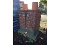 False chimney stack