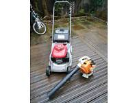 LAWNMOWER HRB425c and BLOWER STHILH BG 56