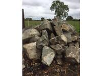 Granite building stone