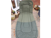 RC DEFENDER FISHING BED CHAIR and SLEEEPING BAG