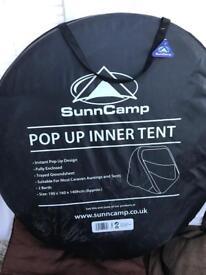 Pop up inner tent