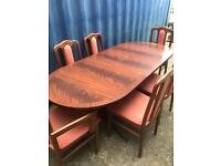 Table and 6 chairs FREE DELIVERY PLYMOUTH AREA