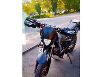 apache 125cc 65 plate