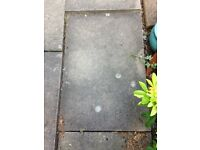 GARDEN PAVING SLABS going free and waiting for your collection from SE London.