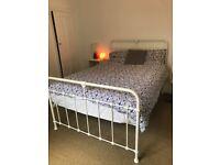 John Lewis Metal Vintage Style Double Bed Frame
