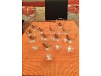 Collectible pheasant glasses,