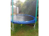 10FT TRAMPOLINE WITH SIDES - reduced