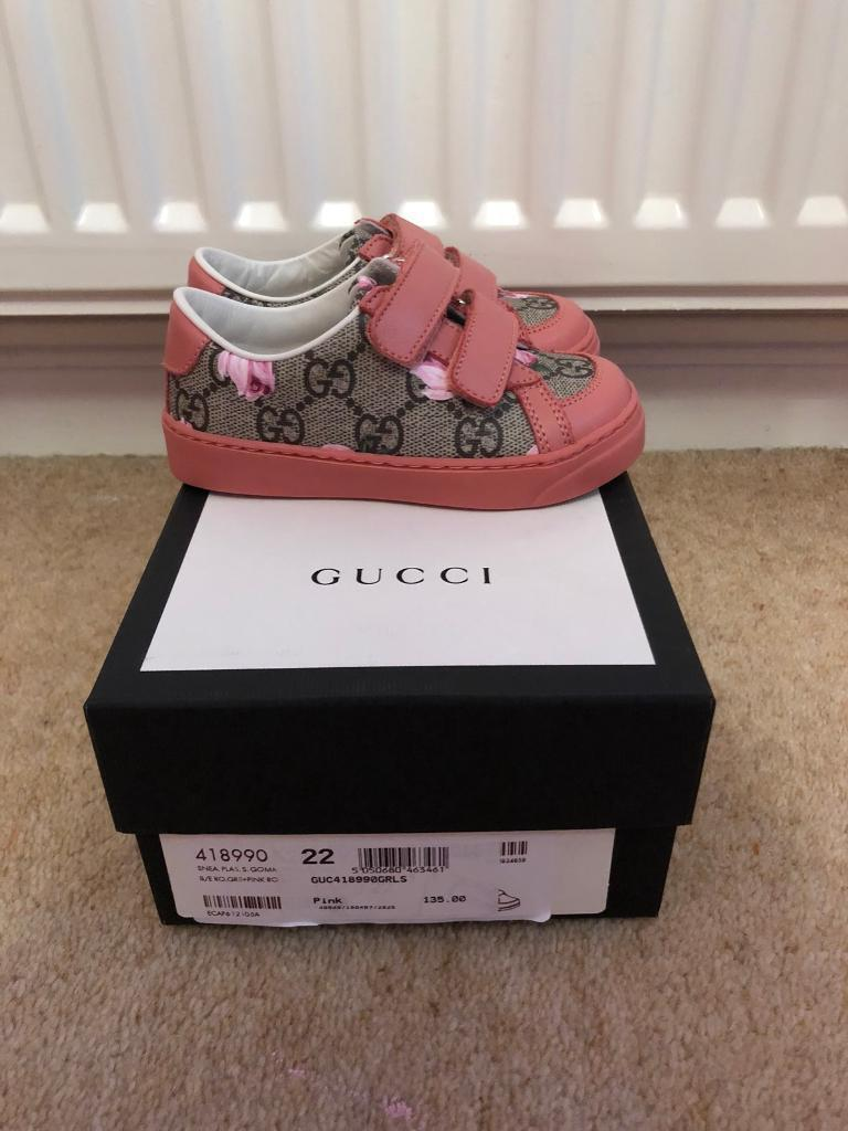 50bfce4e3 100% Authentic GUCCI Toddler Girls Shoes - Size 5 | in Ellon ...