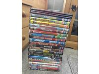 25 dvds