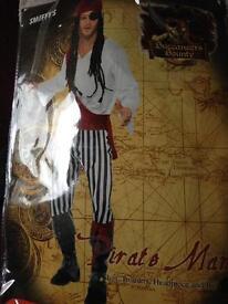 Pirate costume large