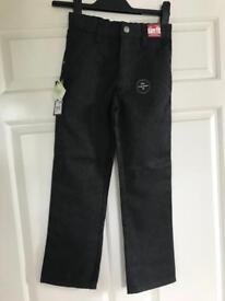 New Boys School Trousers - 8 Years SLIM FIT