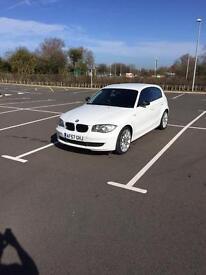 BMW 1 series 116 white 2007