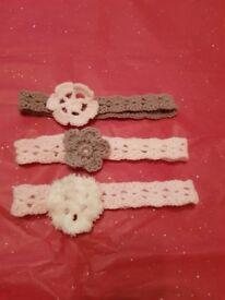 Handmade Headbands - Set of 3