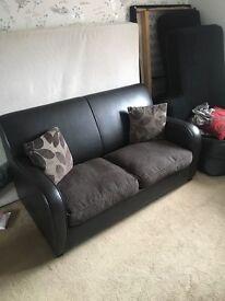 Sofa bed no mattress