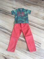 Hose mit Polo Shirt Jungen Größe 4Jahre ca. 104/110 Nordrhein-Westfalen - Korschenbroich Vorschau