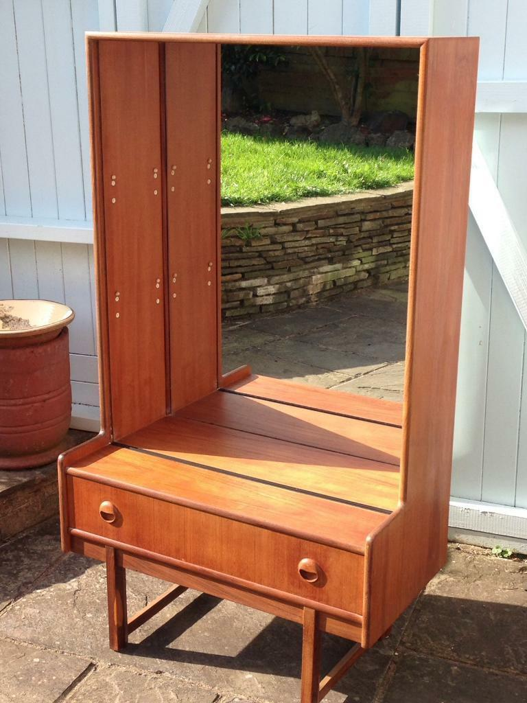 Vintage Retro Mid Century Turnidge 60s70s Teak Display Cabinet