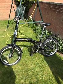 Brand new foldable bike rrp £120 , selling for £80