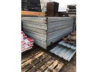 Heras site security fence panels