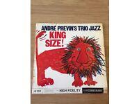 André Previn's Trio Jazz vinyl
