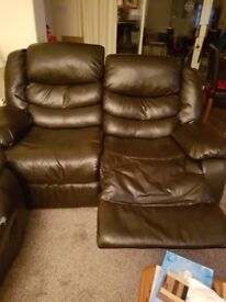 Two seater sofa free must collect by Sundat night call 07703115366