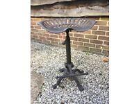 Metal tractor seat stool