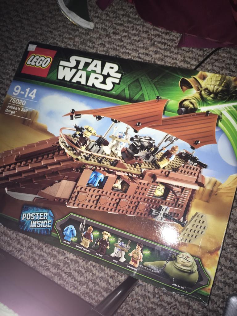 Lego Janna Sail Barge 75020