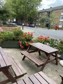 Outdoor Benches For sale £10 each
