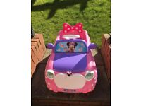 Minnie Mouse electric car- for collection only