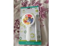 Disney baby brush and comb set