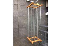 shoe storage rail