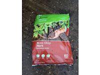 Mini chip bark decorative mulch 60 ltr