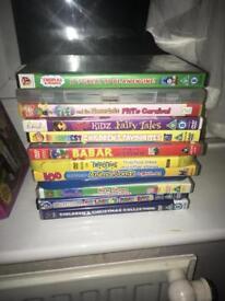 Various kids DVD's