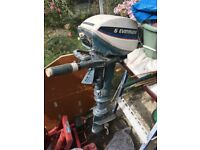 Evinrude 6hp outboard, spares or repair
