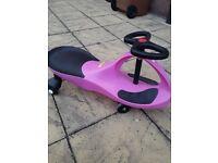Pink Wiggle car