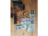 For sale Xbox 360 Kinect, 14 games and 2 controls
