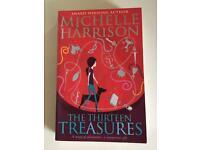 Michelle Harrison -The Thirteen Treasures- Brand New , Unread Paperback