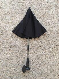 Pram/stroller umbrella.
