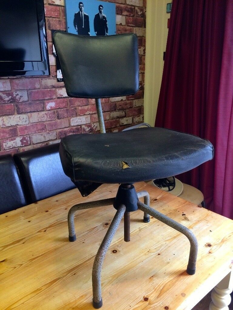 ANTIQUE SWIVEL CHAIR 1950'S - CAN DELIVER