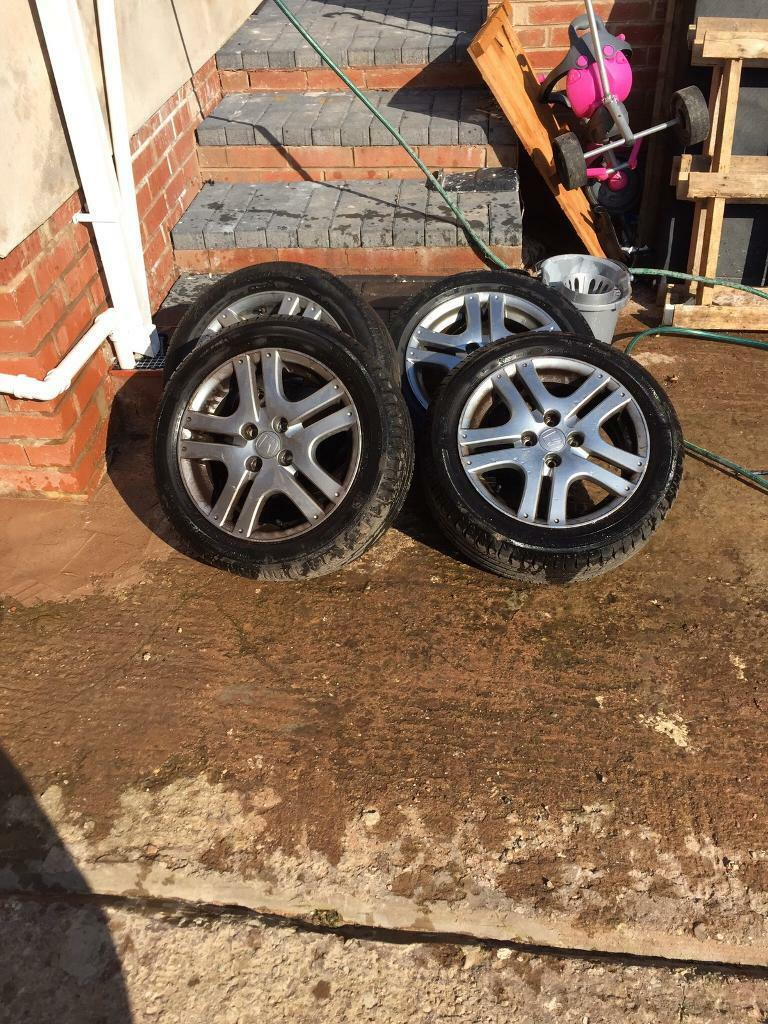 Honda Jazz Alloy Wheels 4x100 15 Alloys In Sandwell