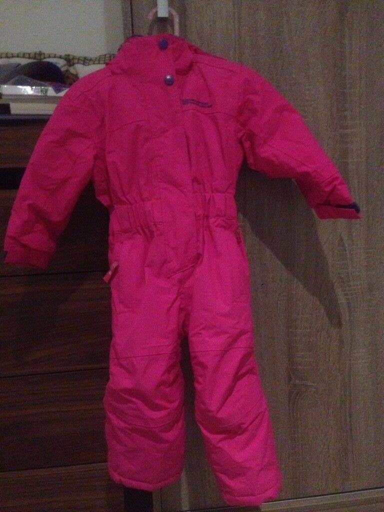 Snow suit - size 1-2