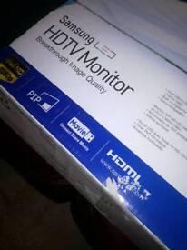 Samsung LED Monitor and TV