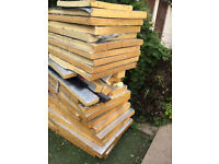 Celotex Insulation 75mm Sheets/Boards various sizes - Job lot
