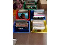 100's of vinyl lps different genre