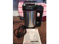 Morphy Richards Saute and Soup Maker as new condition