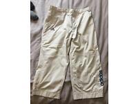 """Men's 3/4 shorts 34"""" waist"""