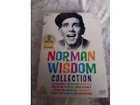 Norman wisdom collection DVD box set.