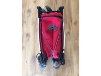 Quinny Zapp light weight and compact buggy, red £30