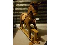 Lovely large mamas and papas rocking horse