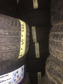225/45/17 large selection good treads